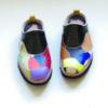 【ガロチャ】パッチワークの革靴、小物